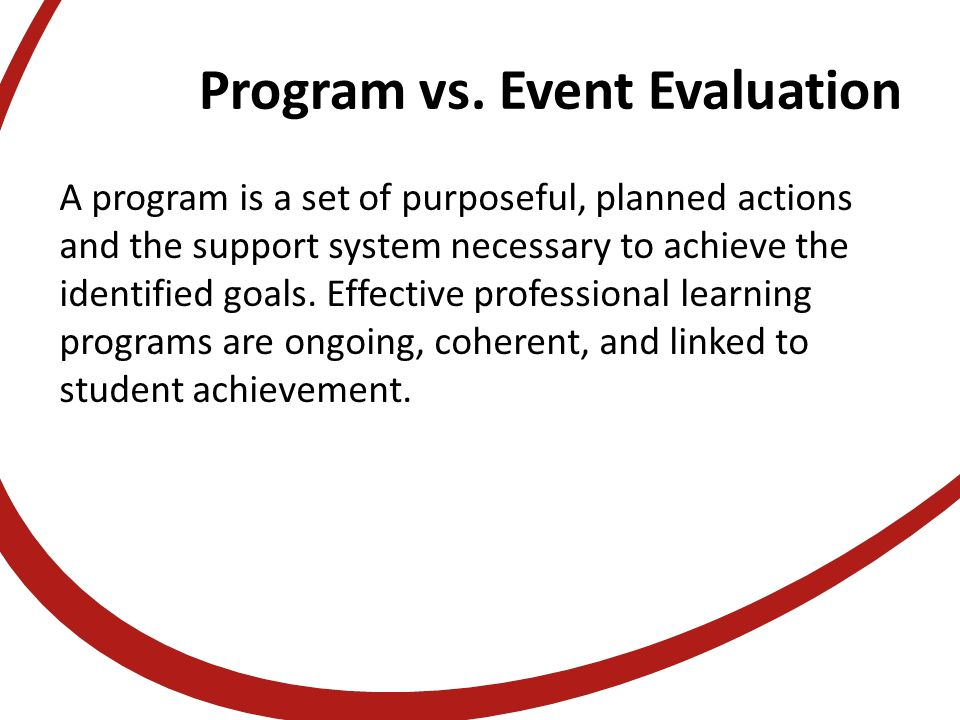 Access Handouts At: Evaluating Evaluating The Effectiveness Of