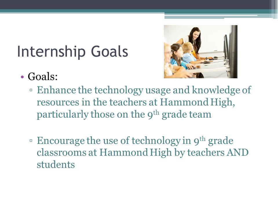 internship goal