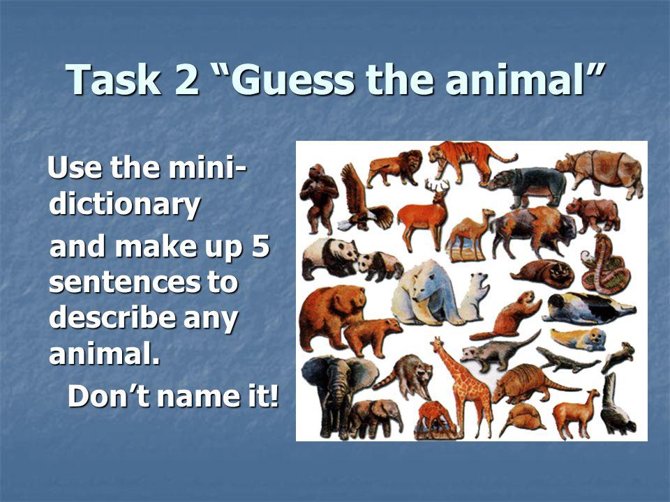 Урок английского в 6 классе кауфман по теме животные