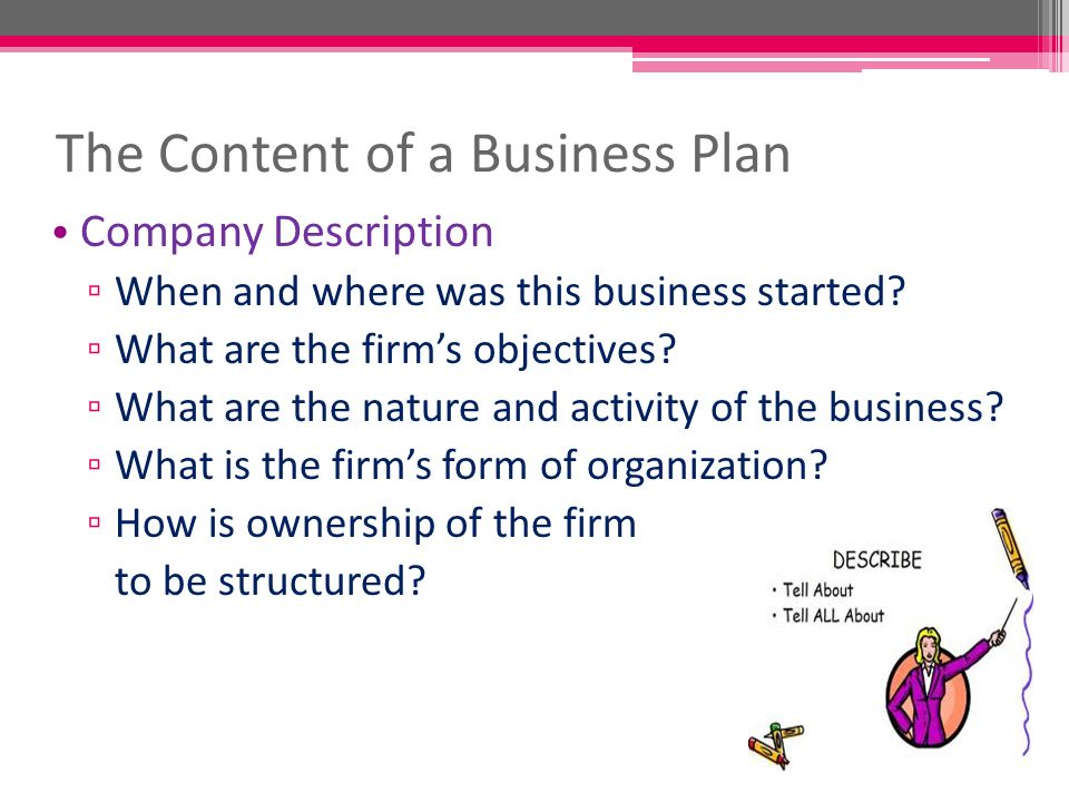 Bp – Project Planning (D) Lim Sei Ck. Business Plan Outline