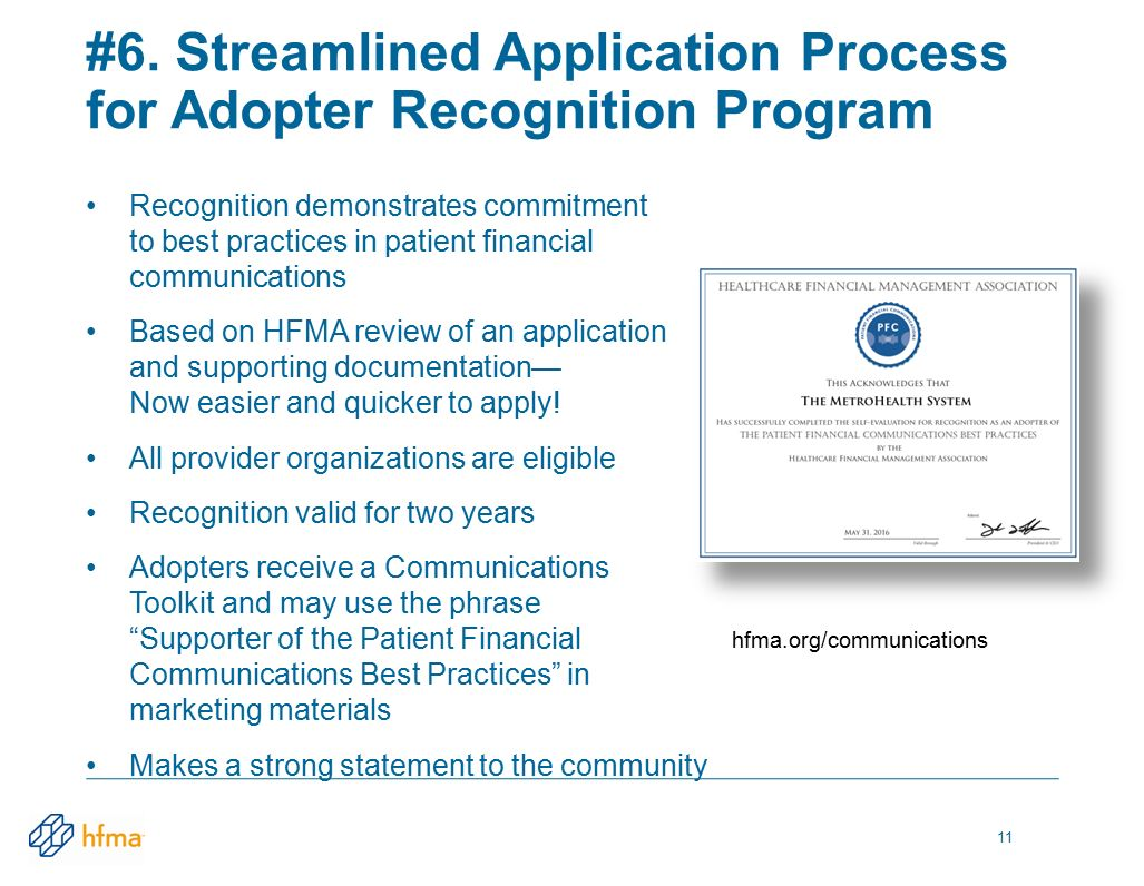 Whats new at hfma renee george vice president operations premier recognition demonstrates commitment to best practices in patient financial communications based on hfma review of an xflitez Images