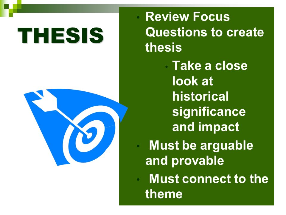 review on thesis