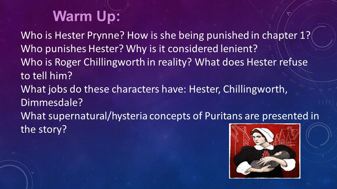 a comparison of hester prynne in david reynolds toward hester prynn and the scarlet a aboriginal and Hester prynne is very aware of the scarlet letter so how can pearl act with love and affection toward her mother when how does hester feel about the scarlet.