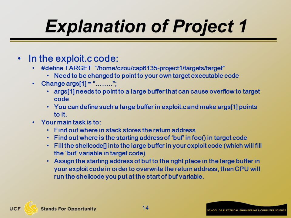 Cap6135 malware and software vulnerability analysis buffer overflow 14 explanation thecheapjerseys Image collections