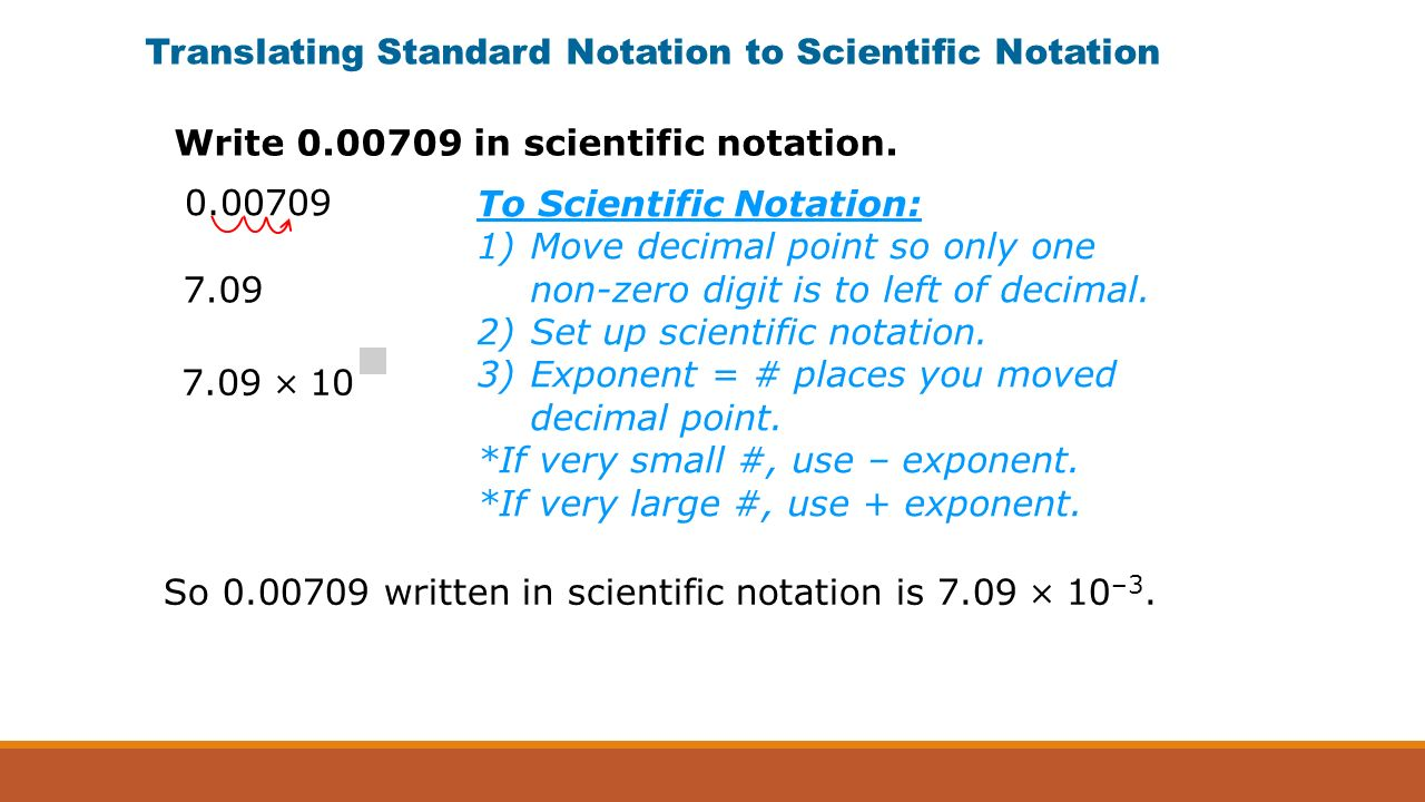 Scientific notation an ordinary quarter contains about translating standard notation to scientific notation 000709 709 709 10 to scientific notation 1 falaconquin
