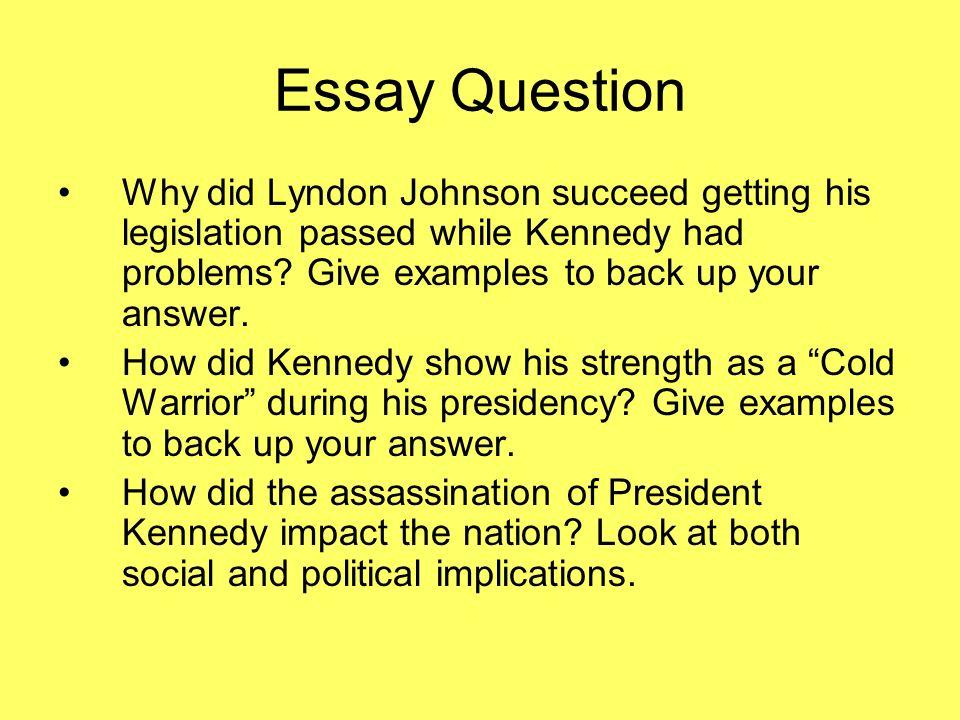 lbj paper essay example
