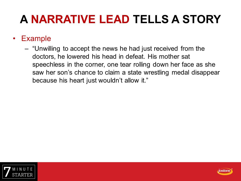 narrative paragraph writing examples