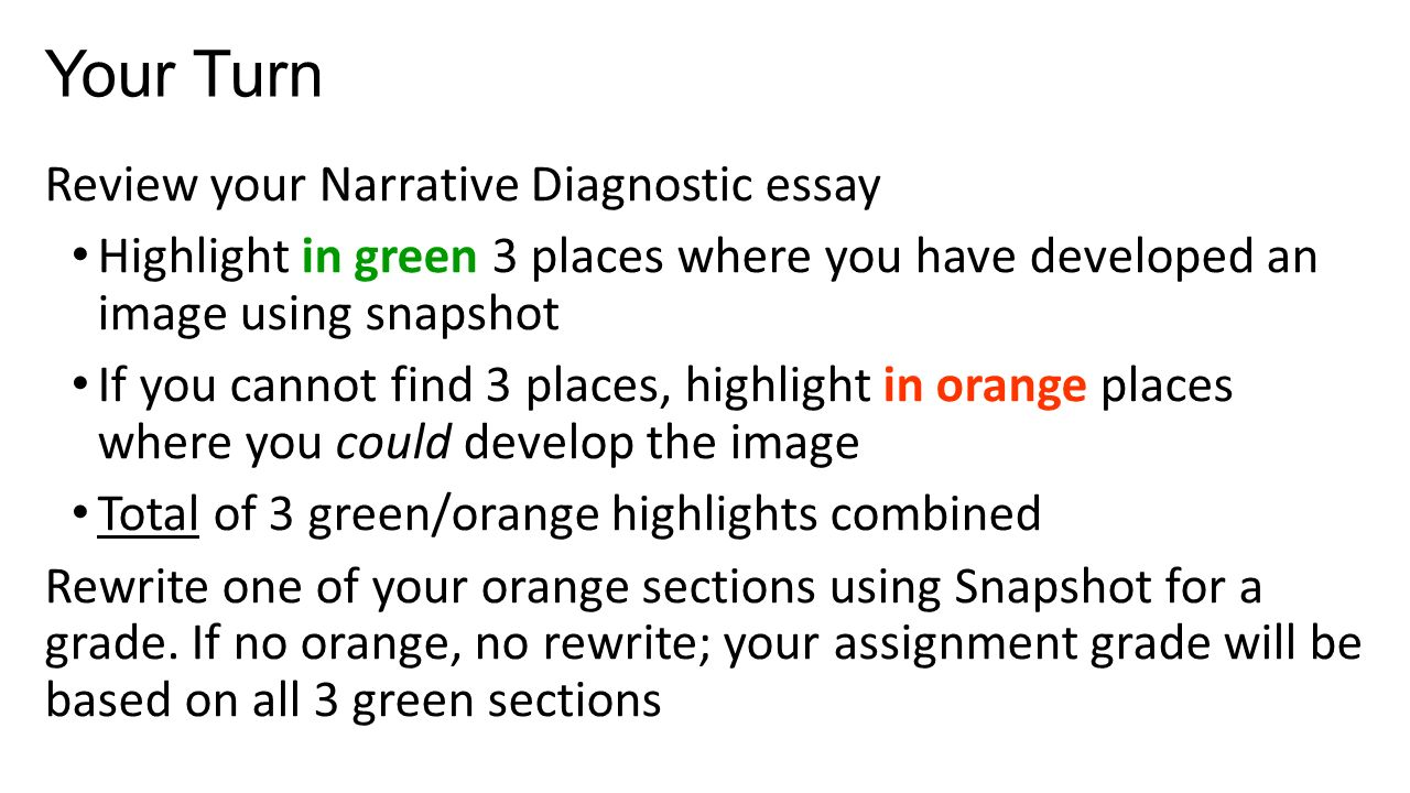narrative writing strategies