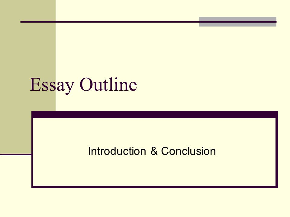 essay outline introduction conclusion introduction st 1 essay outline introduction conclusion