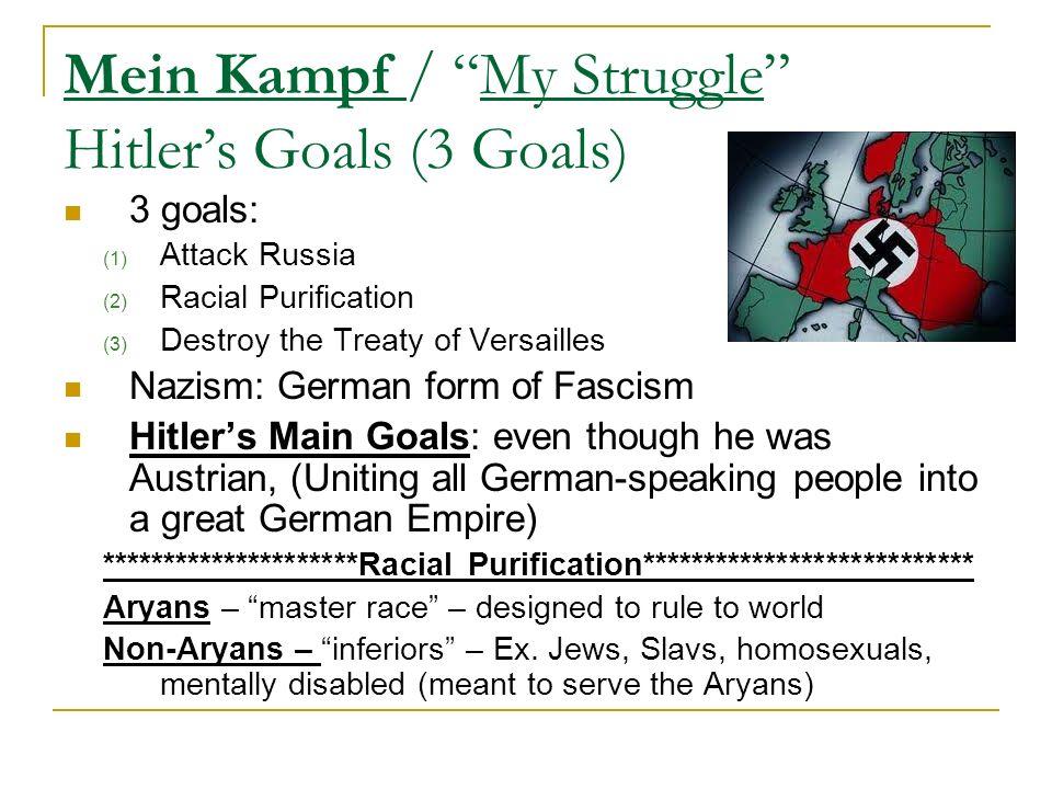 Goal 10 Part 1 Dictators Threaten World Peace. Cause of ...