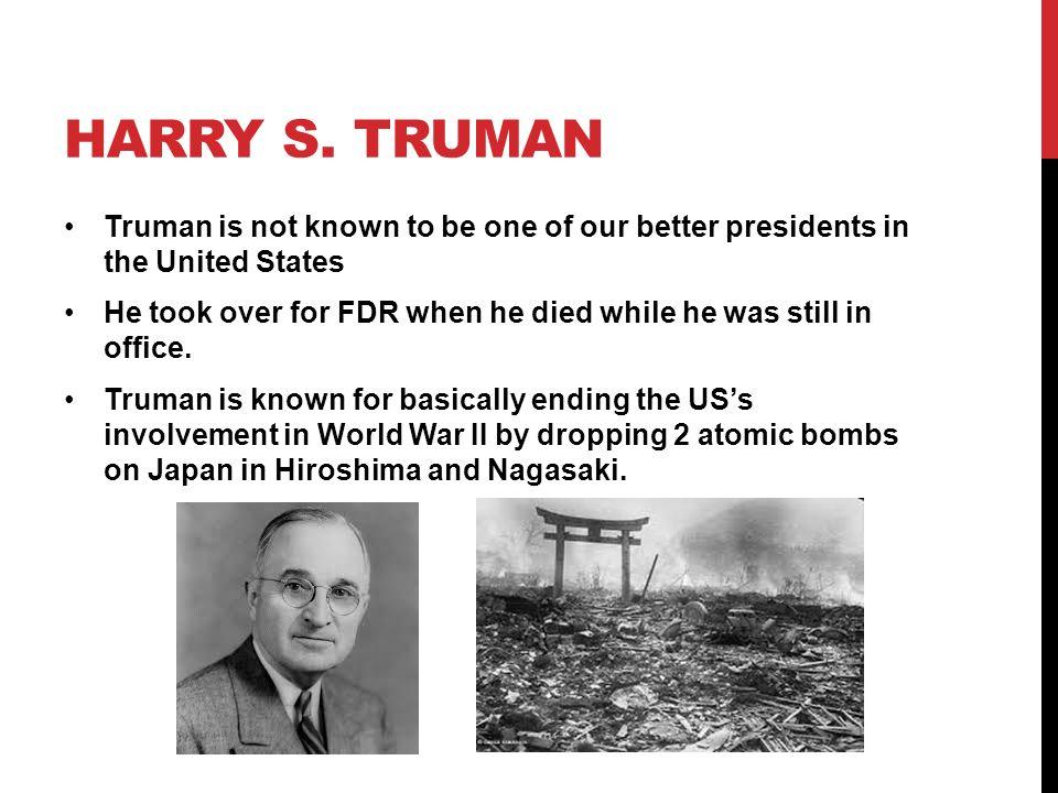 HARRY S.