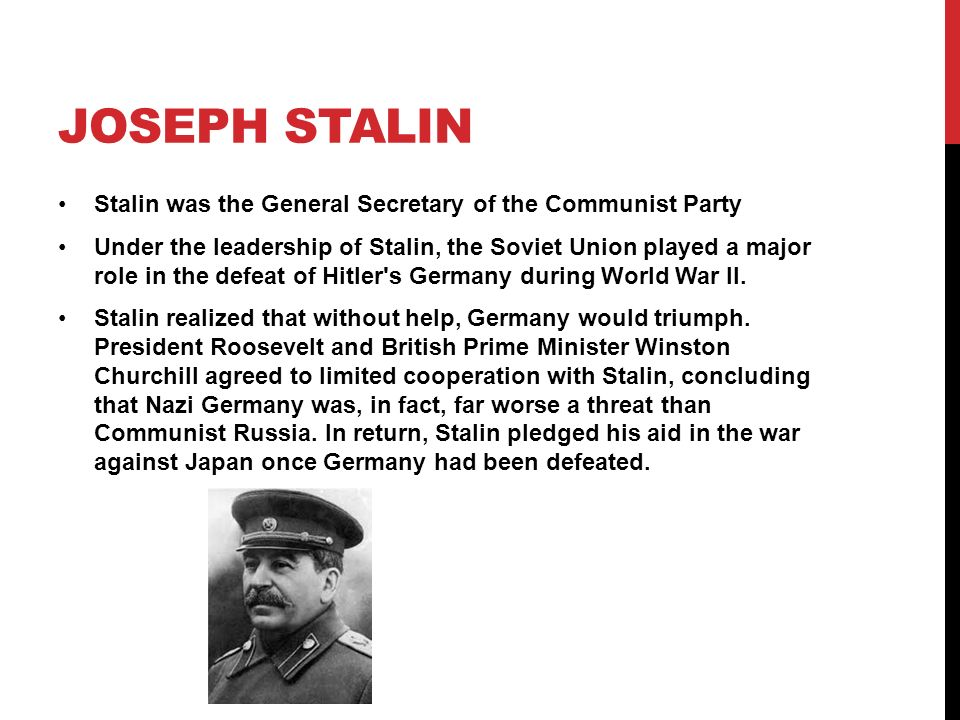 the soviet union under joseph stalin essay