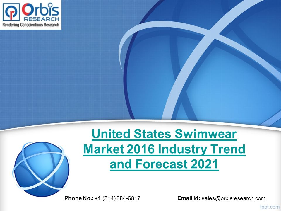 market research on swimwear industry