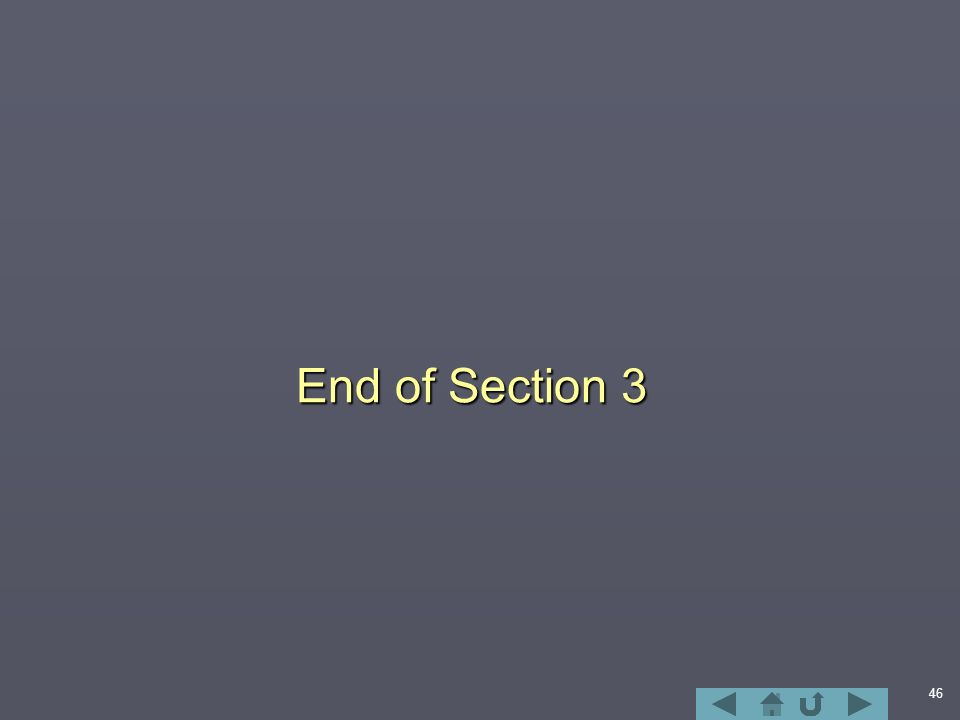 46 End of Section 3