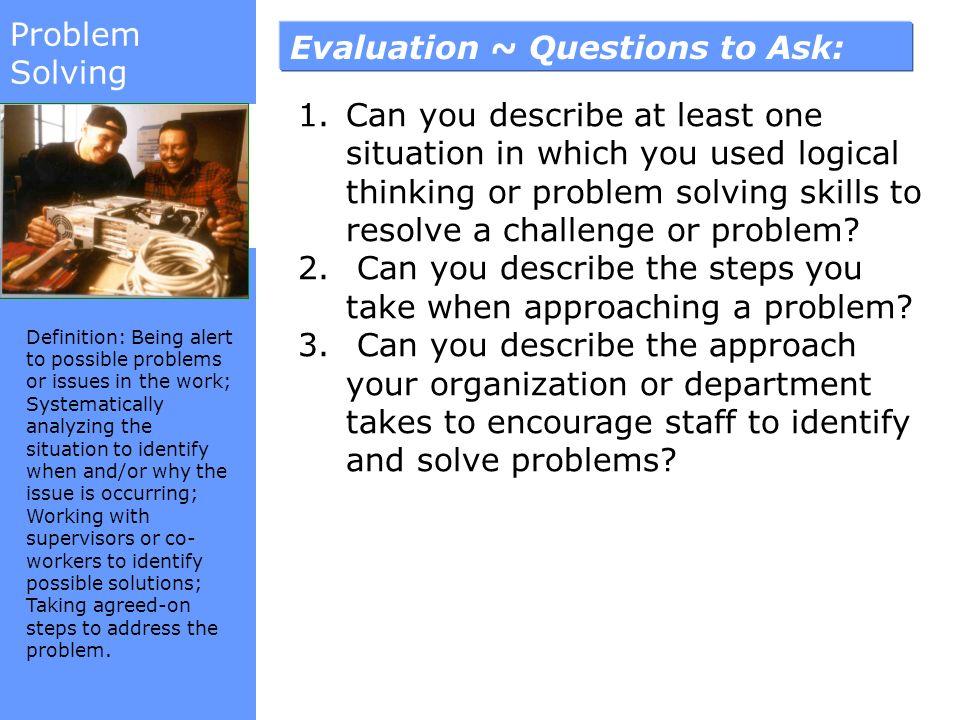Problem Solving Interview Questions Programming