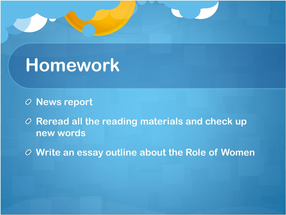 the role of women in modern society essay Essay writing guide learn sophie edwards the role of women in today's society women in today's society have certainly the role of women in society is very.