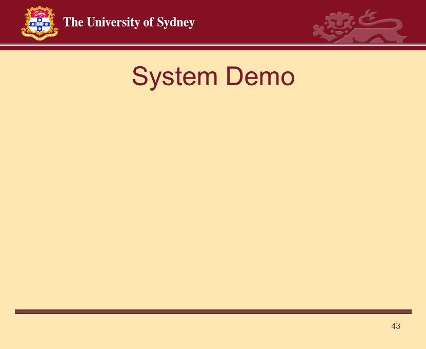 43 System Demo