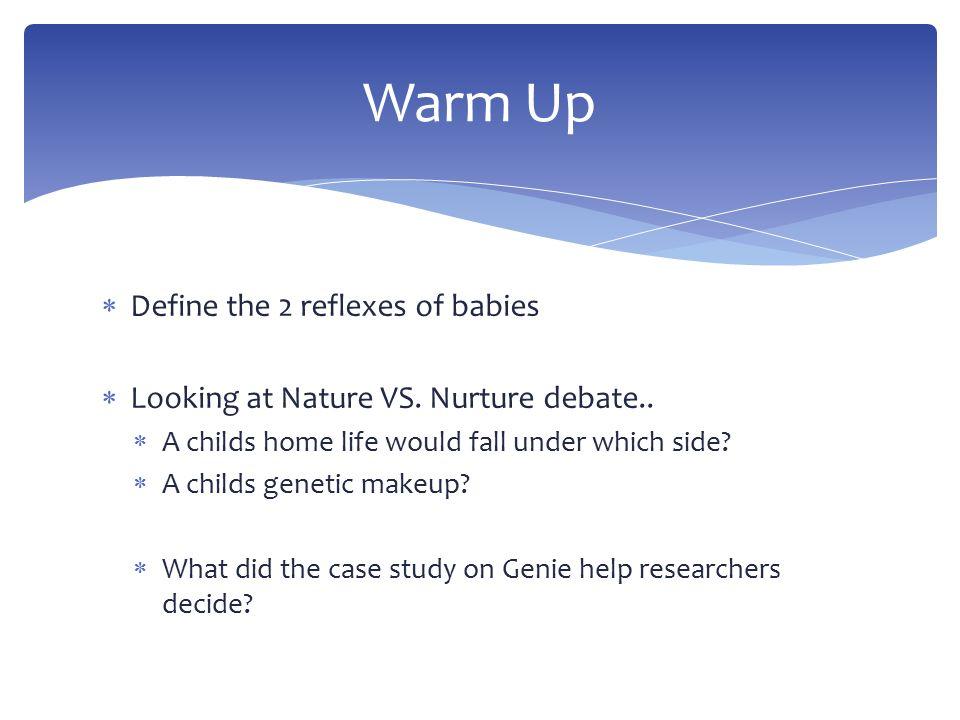 nature nurture debate on gender with reference to david reimer case