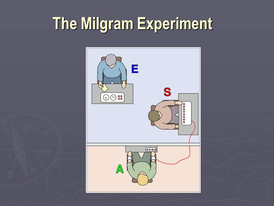 how an experiment is conducted