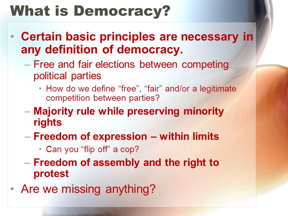 is democracy a better form of Democracy or meritocracy: which is the so for all we know a democracy might be the second-best form of on merit make a better decision democracy has.