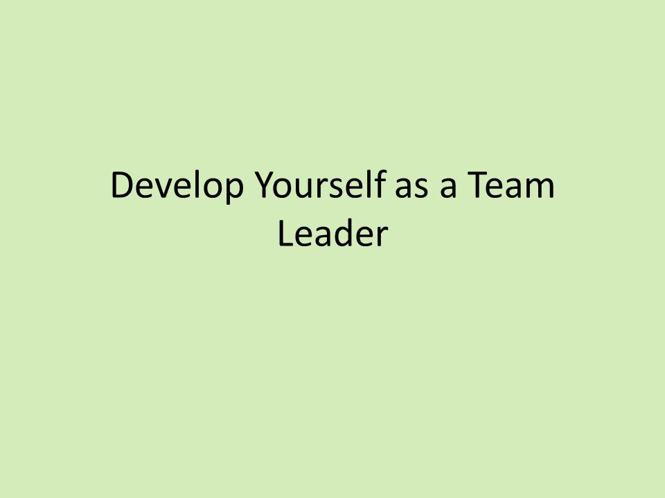 how to distinguish yourself as a leader How do i develop myself as a leader the paper requires a free member account  learning about yourself and recognizing leadership qualities within yourself.