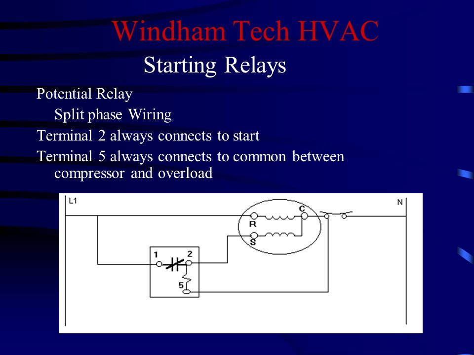 slide_14 hvac potential relay wiring diagram dolgular com  at reclaimingppi.co