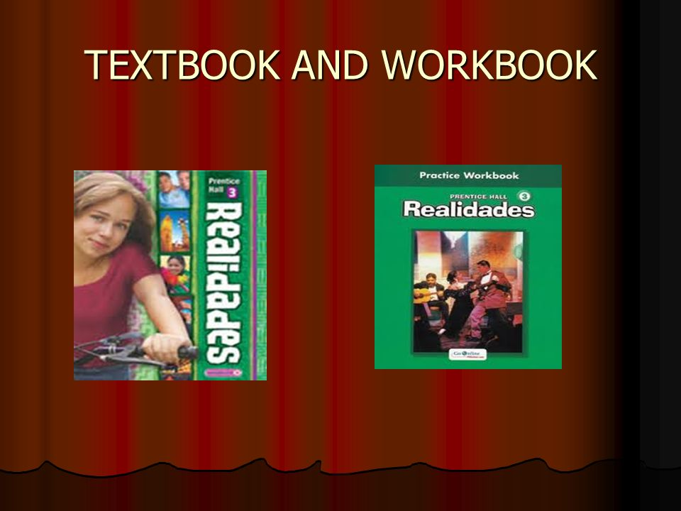 TEXTBOOK AND WORKBOOK