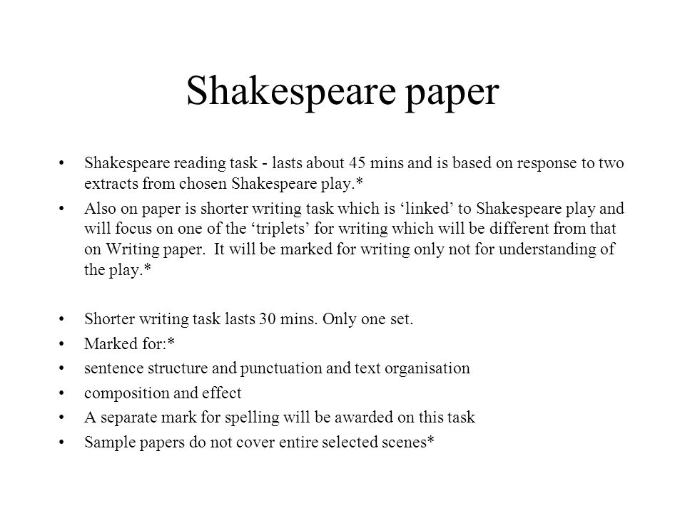 shakespeare major paper William shakespeare: william shakespeare, english dramatist, poet, and actor, considered by many to be the greatest dramatist of all time.