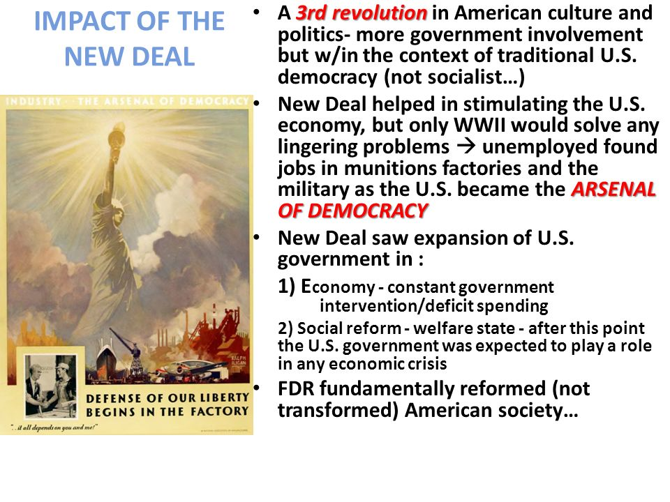 the new deal transforming america s economy Free new deal papers  a new deal a new america and back into the economic boom of the 1920's the new deal consisted of direct government action.