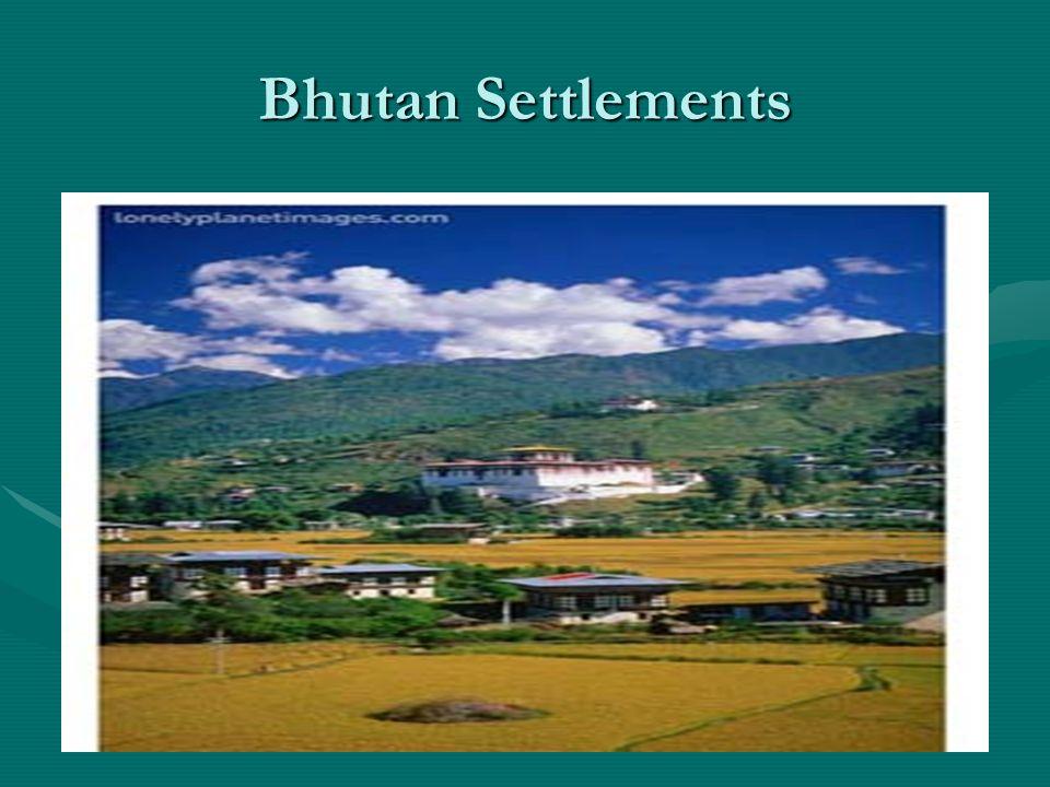 Bhutan Settlements