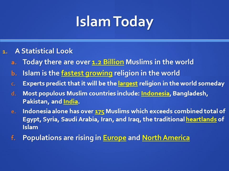 Islam Outcome Islam Today Islam In The World Today Ppt Download - Religion in the world today