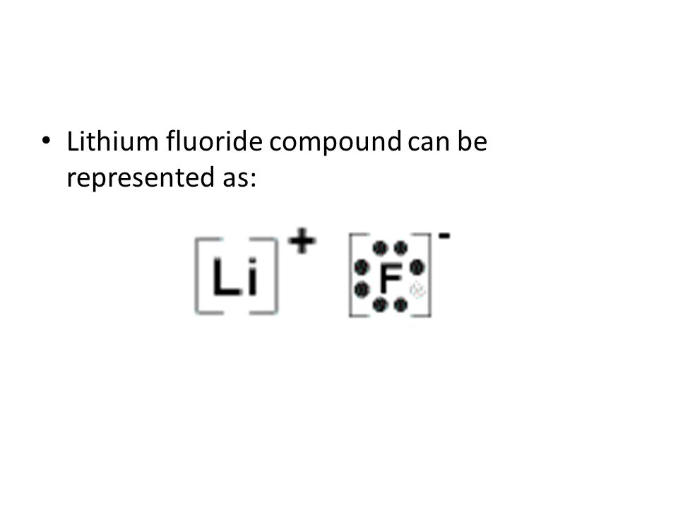 Electron Dot Diagram For Lithium Fluoride Collection Of Wiring