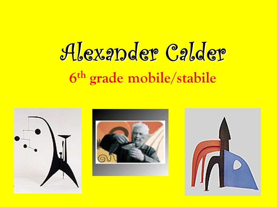 the life of alexander calder an american sculptor Alexander calder american sculptor, painter, and illustrator alexander calder (1898-1976), through his construction of wire mobiles, pioneered kinetic sculpture.