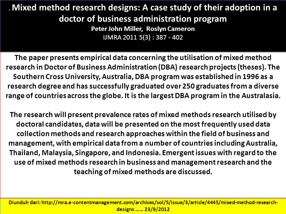 case study method of research Observational research is a group of different research methods where researchers try to observe a phenomenon without interfering too much observational research methods, such as the case study , are probably the furthest removed from the established scientific method.