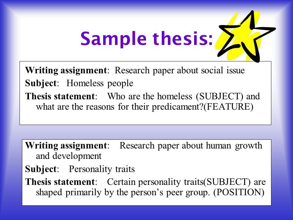 a + research paper