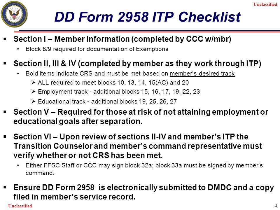 Unclassified Online TAP Tool Defense Manpower Data Center (DMDC) 2 ...