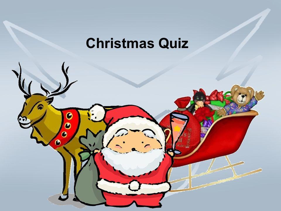 2 christmas quiz - Santa Claus And Jesus 2