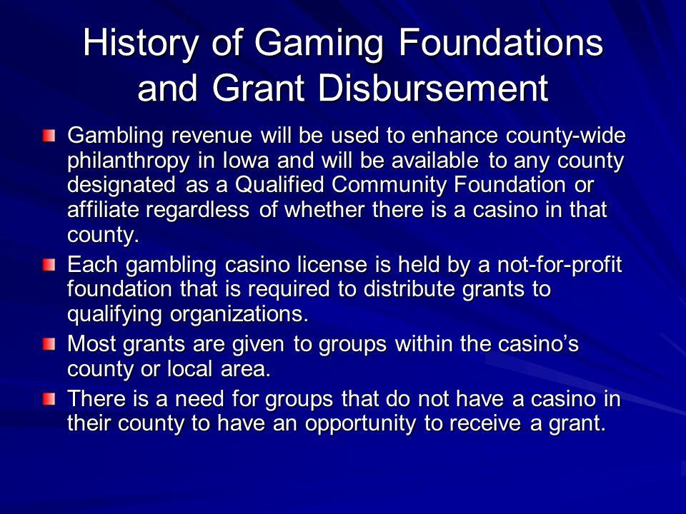 Iowa gambling county endowment roulette how to win