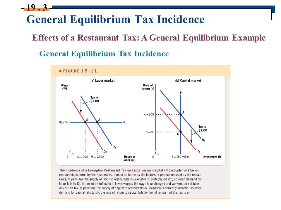 general equilibrium model