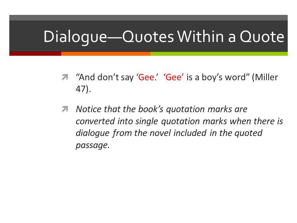 how do you quote a book