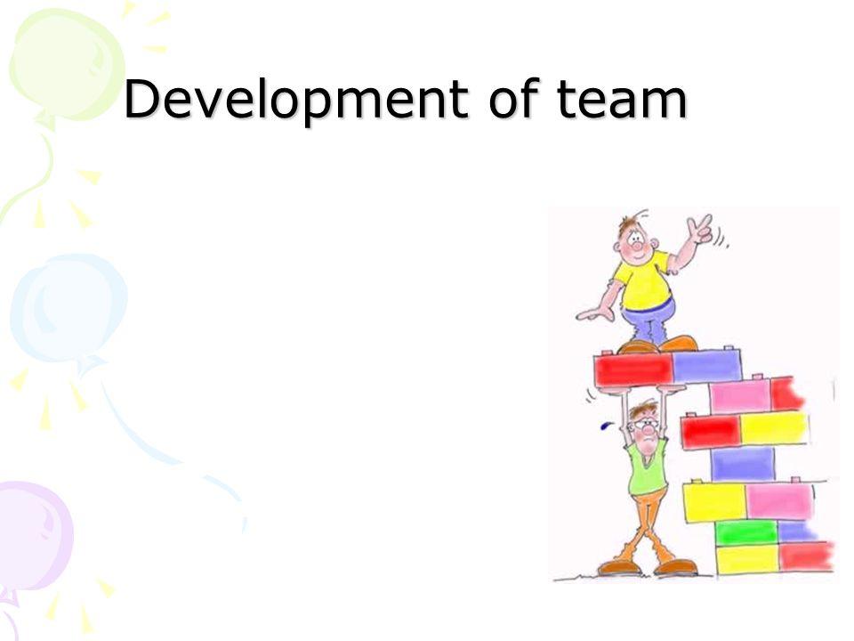 Development of team