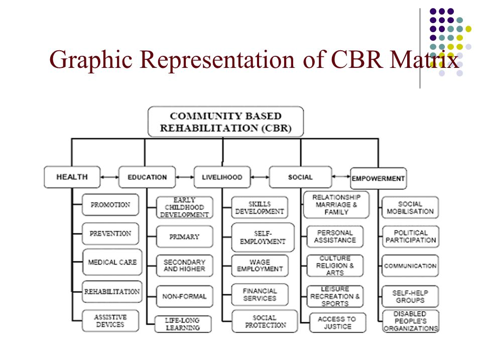 Graphic Representation of CBR Matrix