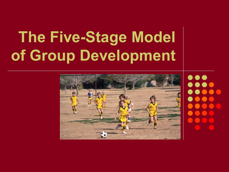 The Five-Stage Model of Group Development
