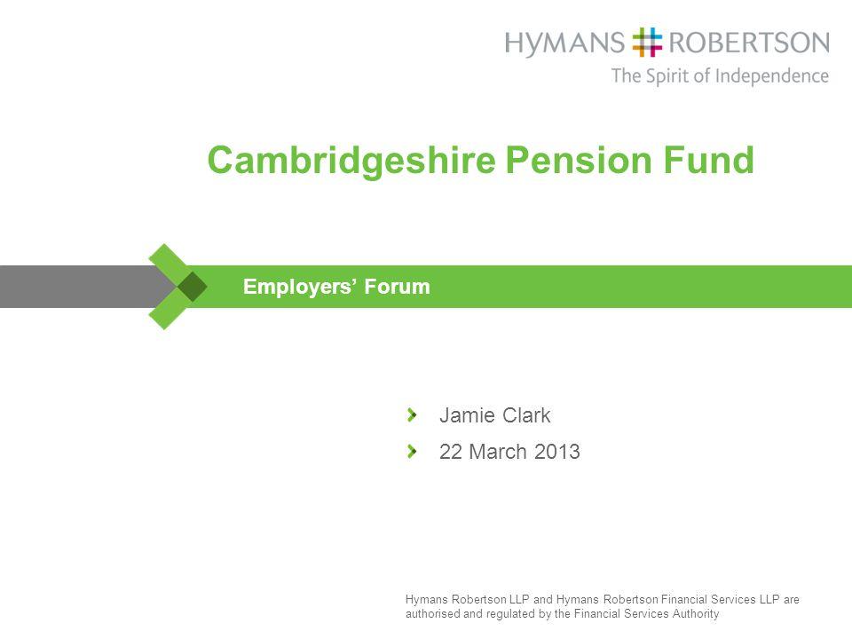 ... Hymans Robertson's trustee proposition. Graphic Design Landscape UK  Trustee