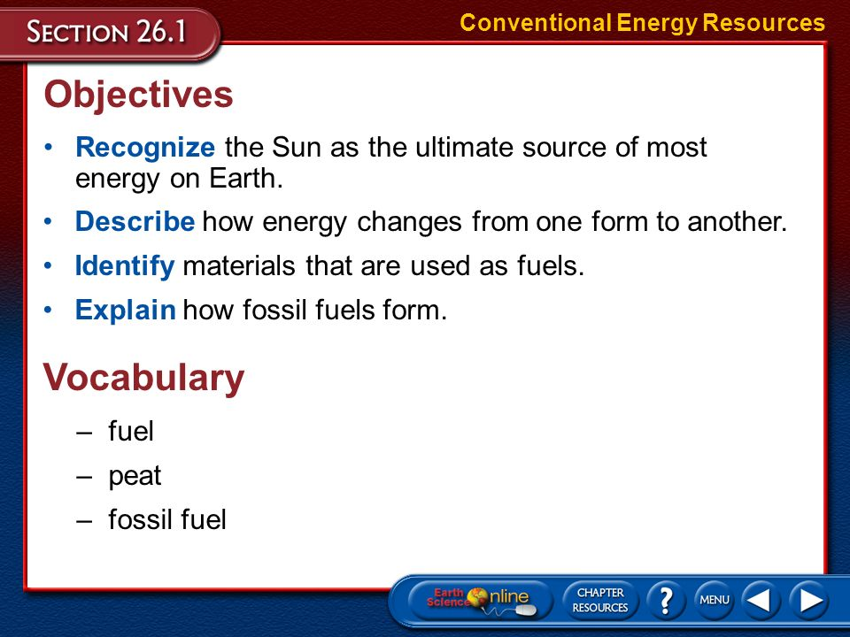 say on how sun is the ultimate source of energy