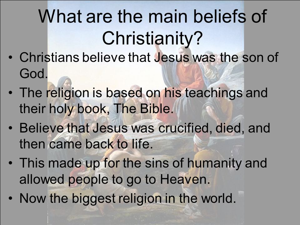 Judaism Christianity Islam What Do All Three Have In Common - Three biggest religions