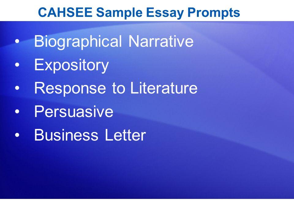 english language arts essay topics Response to Literature Essay