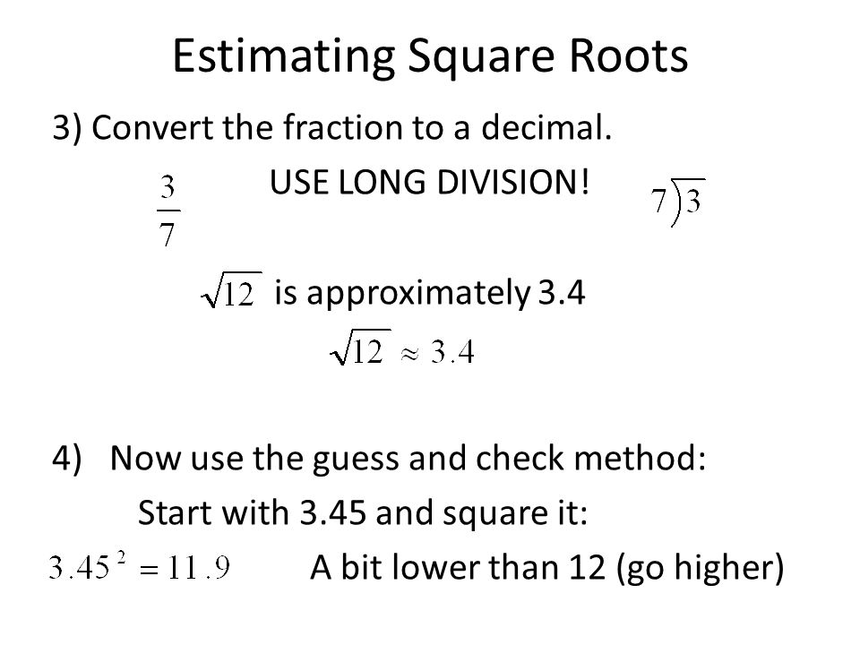 squares and square roots Learn about the square root symbol (the principal root) and what it means to find a square root also learn how to solve simple square root equations.