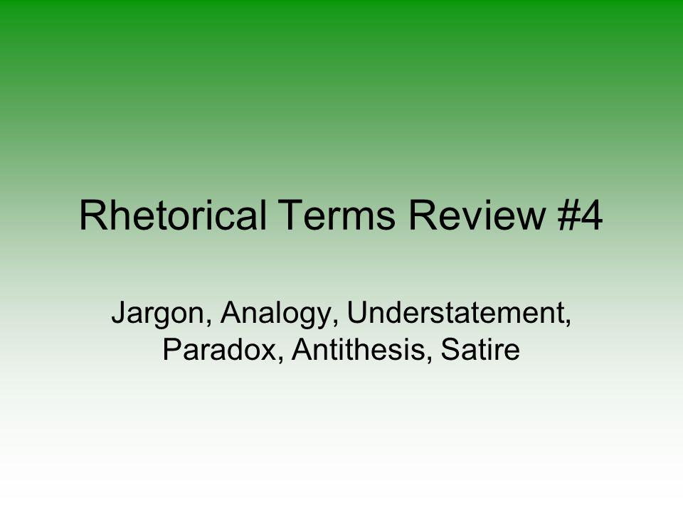 term antithesis