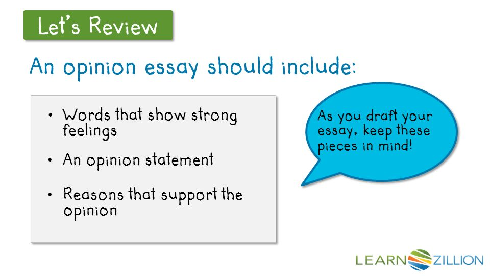 opinion response essay In your opinion, should high school be extended to five years in your essay  student response  the senior itch.